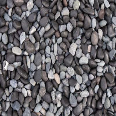 B/W multicolour river pebbles