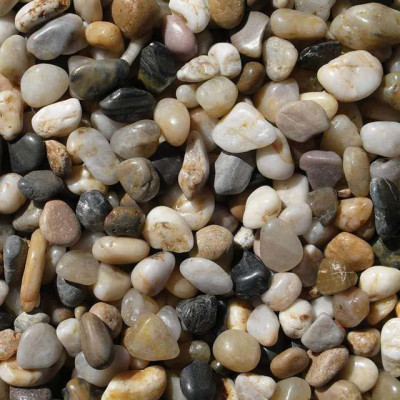 Nature made river pebbles