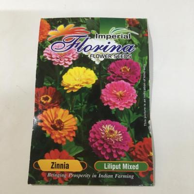 Zinnia Liliput Mixed Seeds (pack of 5)